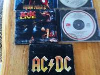 19 hard rock cds 25.00 call or text