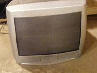 19 inch color TV, would be good for kids room or