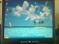 In excellent condition - 19 inch Princeton LCD monitor