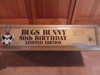 19 inch Limited Edition 50th Birthday Bug Bunny Limited
