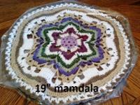 19 inch mandala.To see this item copy and paste this