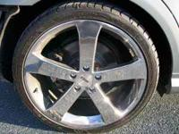 Brand new set of 19 inch TSW VORTEX chrome rims with