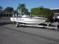 19' Key Largo for sale. New windshield, new front