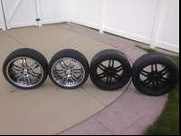 Set of 4 Lexani Luxury 19 inch Wheels & RimsSet has