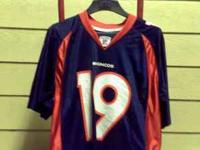 denver broncos #19 eddie royal NFL medium jersey $15