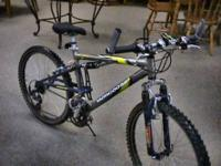 "19"" Men's Mongoose Mountain Bike   Get there 1st and"