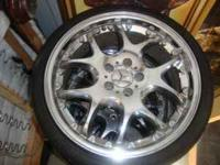 NICE! mercedes benz rims. 19' comes with the