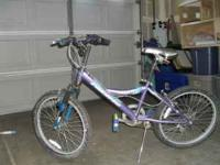 6 speed kids mountain bike in good shape.  Location:
