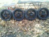 Nice rims I got them when I got my car but I don't