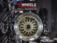 Surface - GOLD. Size - F 19x8.5 R19x9.5. Bolt Pattern -