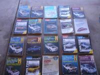 19 service manuals :call 406-6800
