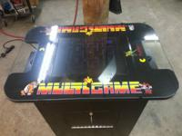 "COMES WITH NEW 55 IN 1 MULTI-GAME BOARD WITH 19"" WELLS"