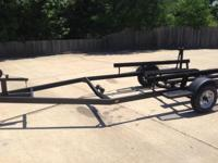 Somewhat used 19' boat trailer. The trailer has new 13""