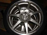 "A set of 19"" SSR GT7 19x8 rims and tires $700 obo."