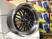 Wheels Description Design: STR 601B Complete: GUN METAL