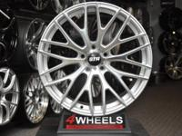 Brand new for set of 4 wheels. Deep rear concave.  Size