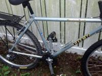 "I have a 19"" Trek 800 Mountain Track mountain bicycle"