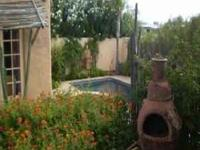 Furnished sanctuary with private pool and spa in the