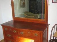 Lovely antique cherry wood dresser from the early