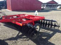 "1900 Case IH 370 Disk Harrow 13' 6"" 3' 6"" New 20"" disks"