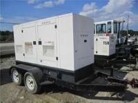 1900 CAT XQ45P2 45KW Generator Generators Preowned...