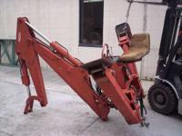 Fits models 78020 & 8020T. Backhoe Attachments Backhoes