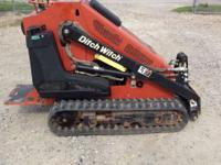 1900 Ditch Witch SK650 Mini Skid Steer Ditch Witch