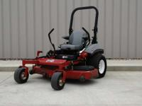 "1900 Exmark LZX38KC606SS 38HP 60"" Lawn Mowers Riding"