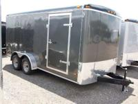 7x16 Tandem Axle Enclosed Trailer Haul-It 7x16 Enclosed