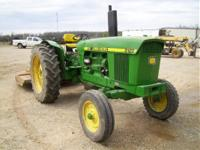 good rubber 38 in. 1900 John Deere 3120 row crop