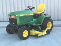 1900 John Deere 455 50HP YANMAR DIESEL Lawn Mowers