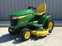 "1900 John Deere X534 24 HP 54"" LIKE NEW! ALL WHEEL"