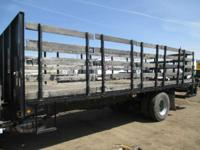 1900 Other 24' Flatbed Stake Bed 24' Flat Bed With 2500
