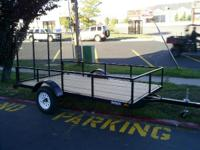 1900 Royal Trailers UT100 1 PLACE UTV TRAILER 5X10