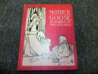 MOTHER GOOSE RHYMES BOOK WITH BEAUTIFUL ILLUSTRATIONS