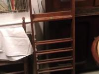 We have a 1900's Pool Stick & Ball Rack. It is in good