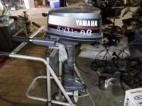 Description 4hp Yamaha Outboard 4hp Yamaha Outboard ,