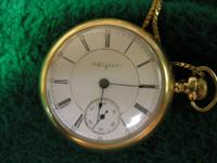 We have an Elgin Pocket Watch in very good condition