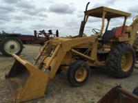 1900 Ford 4500 Tractor Loader Backhoe Tractor Loader