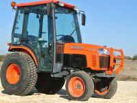 The 30hp diesel engine is ideal for taking on those