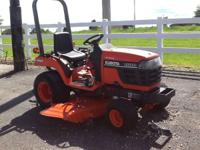 1900 Kubota BX2200 HYDRASTAT W/60 IN MOWER DECK/3 PT/NO