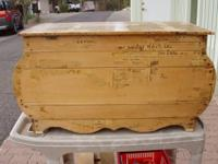 This trunk is a December 13, 1903, made in Boston,