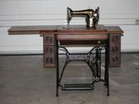 I HAVE A 1904 SINGER SEWING MACHINE, MODEL 66K RED EYE,