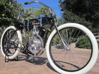 This very correct and beautiful 1905 Harley Davidson