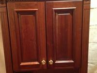 This is a classic style Maple China Cabinet from after