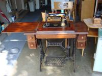 Great old Singer Sewing Machine, according to the