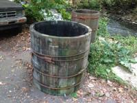 Hello You are checking out original Lumber barrels from