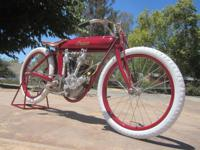 A perfect 9/16 scale 1912 Indian Board Track Racer with