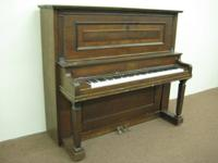 "1912 Royal 551/2"" Upright Piano, s/n 34740, Made in"
