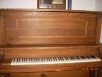 1912 Upright Piano. Schaeffer. Very good condition! No